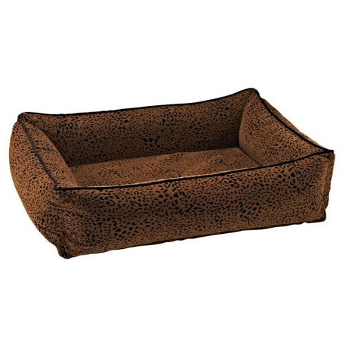 Bowsers MicroVelvet Urban Lounger Rectangle Nest Dog Bed — Urban Animal
