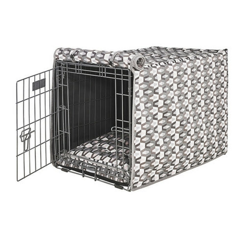 Bowsers Pet Products Micro Jacquard Luxury Dog Crate Cover — Venus