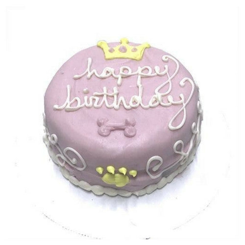 Bubba Rose Biscuit Company Royal Princess Peanut Butter Cake For Dogs