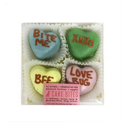 Bubba Rose Biscuit Company Valentines Candy Hearts Cake Bites Box