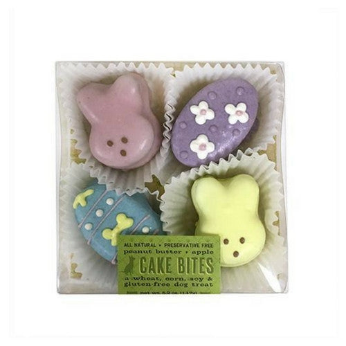 Bubba Rose Biscuit Company Easter Cake Bites Box Gourmet Dog Treats