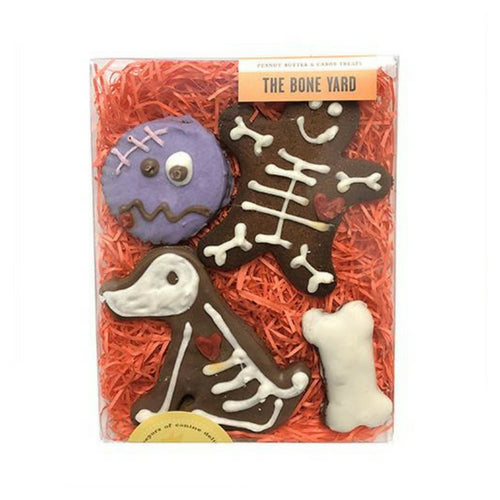 Bubba Rose Biscuit Company Bone Yard Halloween Dog Organic Cookie Treat