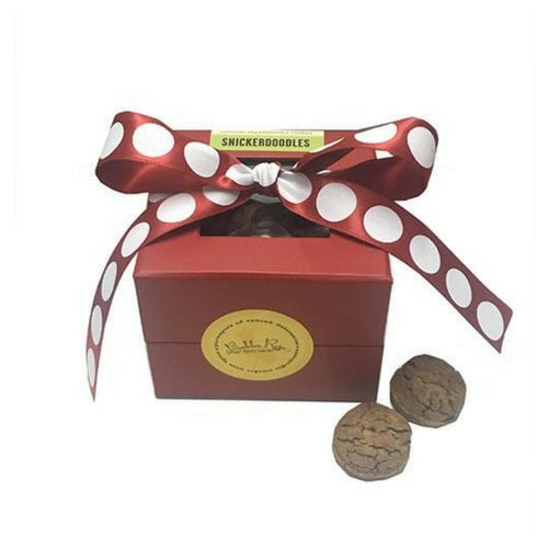 Bubba Rose Biscuit Company Christmas Snickerdoodle Gourmet Dog Treat Box