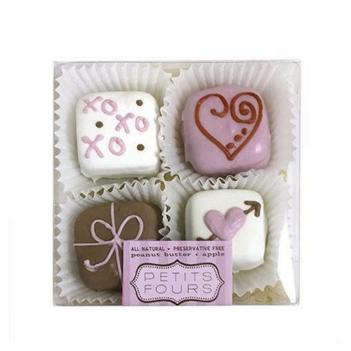 Bubba Rose Biscuit Company Valentine's Petits Fours Gourmet Treat Box