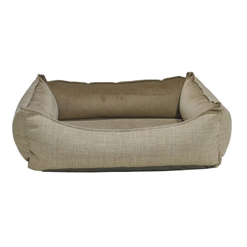 Bowsers Oslo Ortho Cool Gel Memory Foam Nesting Dog Bed — Flax