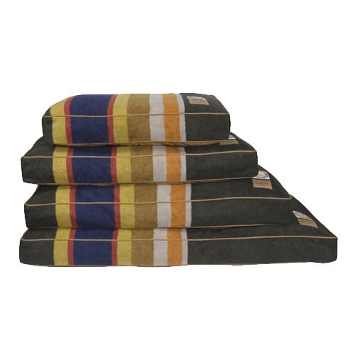 Carolina Pet Company Pendleton Dog Bed — Badlands National Park All Sizes Stacked