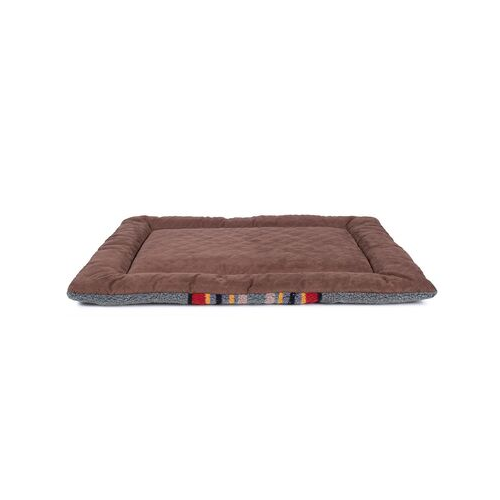 Carolina Pet Pendleton Comfort Cushion Dog Bed — Yakima National Park Heather Green Reverse View