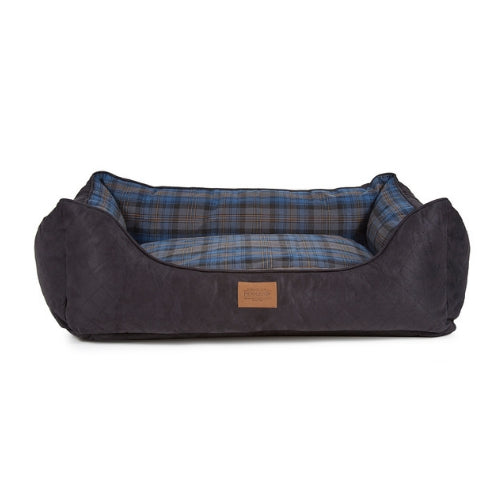 Carolina Pet Company Pendleton Kuddler Dog Bed — Crescent Lake Plaid