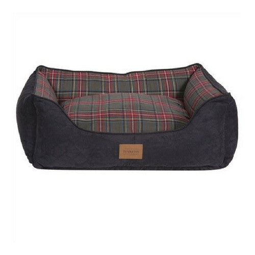Carolina Pet Company Classic Pendleton Kuddler Dog Bed — Grey Stewart