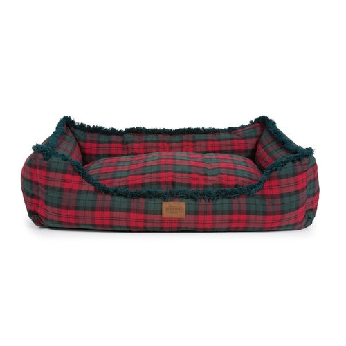 Carolina Pet Company Pendleton Kuddler Dog Bed — MacCormick Plaid