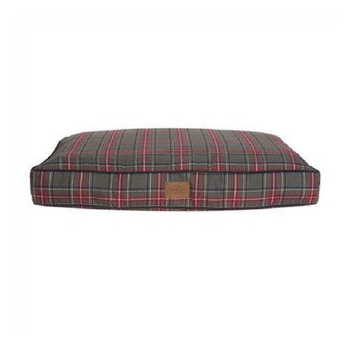 Carolina Pet Company Classic Pendleton Napper Dog Bed — Grey Stewart