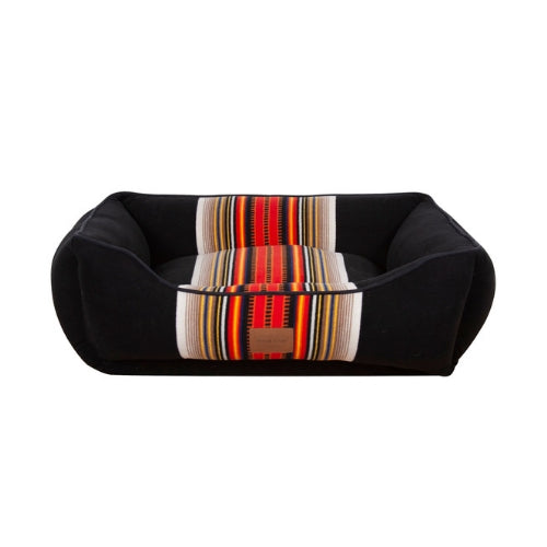 Carolina Pet Company Classic Pendleton Kuddler Dog Bed — Acadia Front View
