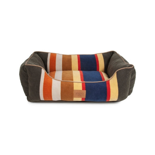 Carolina Pet Company Classic Pendleton Kuddler Dog Bed — Badlands Front View
