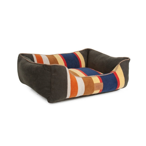 Carolina Pet Company Classic Pendleton Kuddler Dog Bed — Badlands Side View