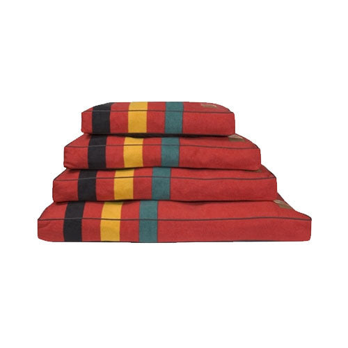 Carolina Pet Company Pendleton Dog Bed — Rainier National Park All Sizes Stacked
