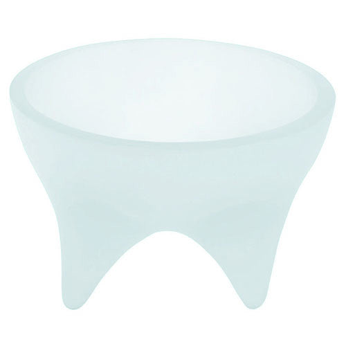 Cats Rule Dogs Rock Signature Raised Round Elevated Pet Feeding Bowl Ice Blue