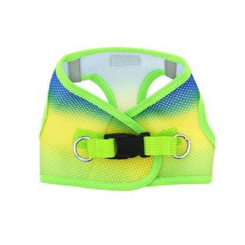 Doggie Design Ombre American River Choke Free Dog Harness — Cobalt Sport Back View