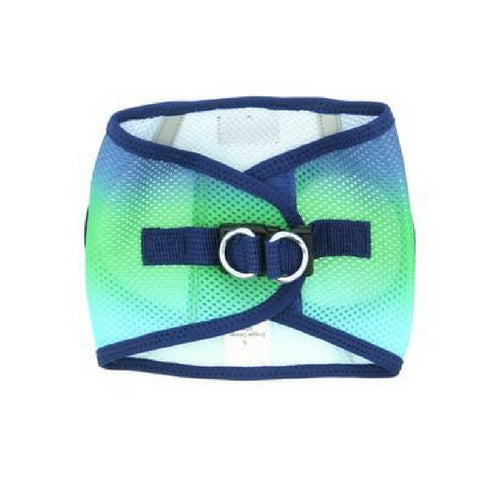 Doggie Design Ombre American River Choke Free Dog Harness — Northern Lights Back View