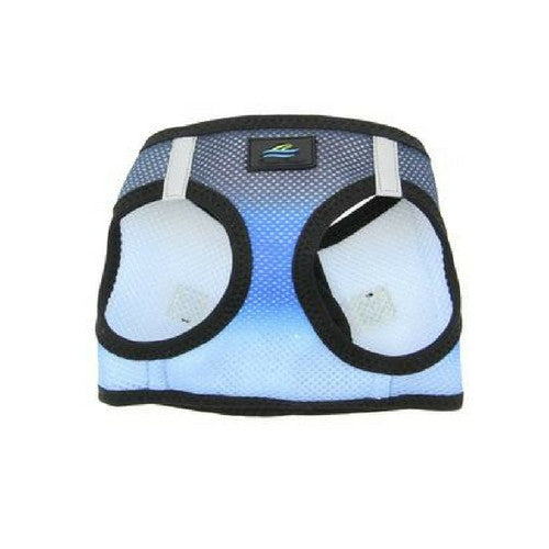 Doggie Design Ombre American River Choke Free Dog Harness — Midnight Sky Front View