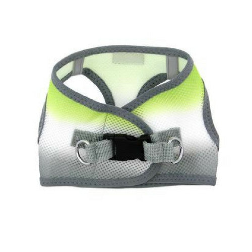 Doggie Design Ombre American River Choke Free Dog Harness — Limestone Gray Back View