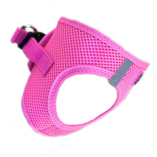 Doggie Design American River Choke Free Dog Harness — Candy Pink Side View