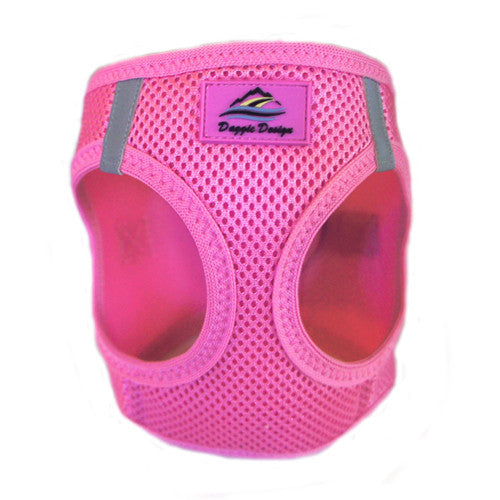 Doggie Design American River Choke Free Dog Harness — Candy Pink