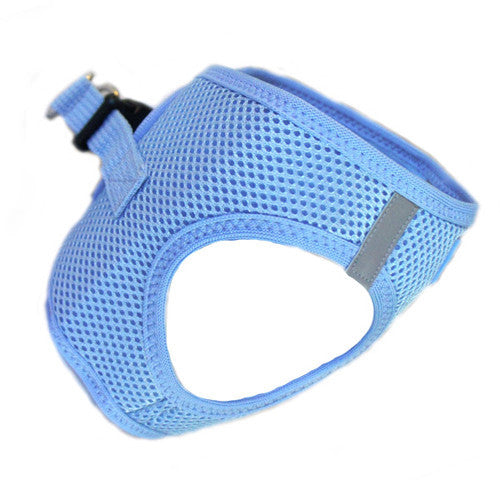 Doggie Design American River Choke Free Dog Harness — Light Blue Side View