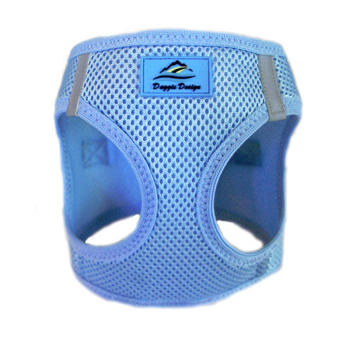 Doggie Design American River Choke Free Dog Harness — Light Blue