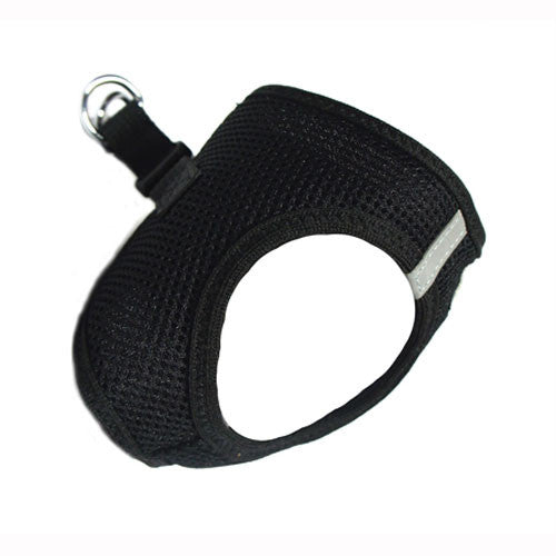 Doggie Design American River Choke Free Dog Harness — Black Side View