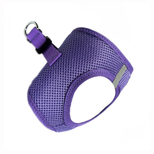 Doggie Design American River Choke Free Dog Harness — Paisley Purple Side View