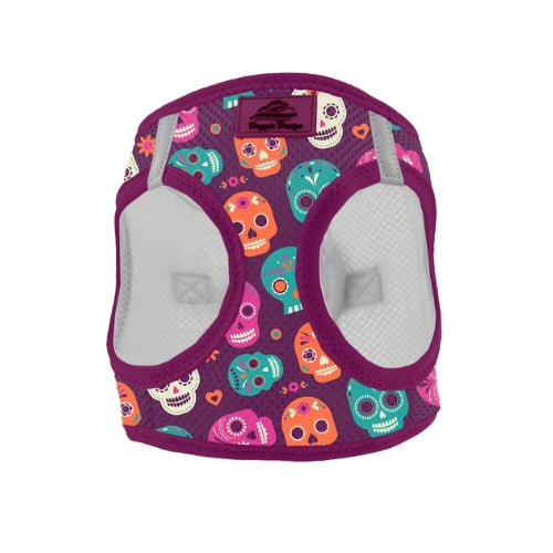 Doggie Designs American River Halloween Harness — Sugar Skulls