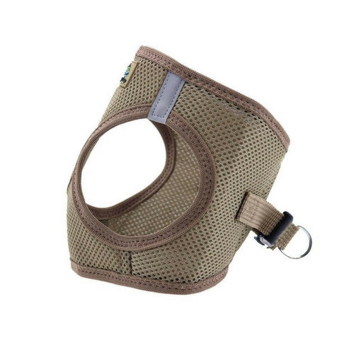 Doggie Design American River Choke Free Dog Harness — Fossil Brown Side View