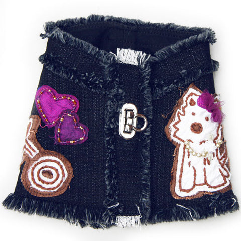 Hugs and Kisses Denim Harness
