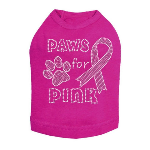 Paws for Pink Tank