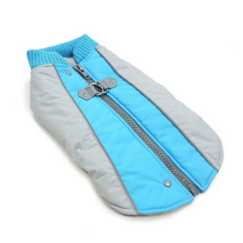 Dogo Pet Fashions Mountain Hiker Winter Dog Coat Laying Flat View