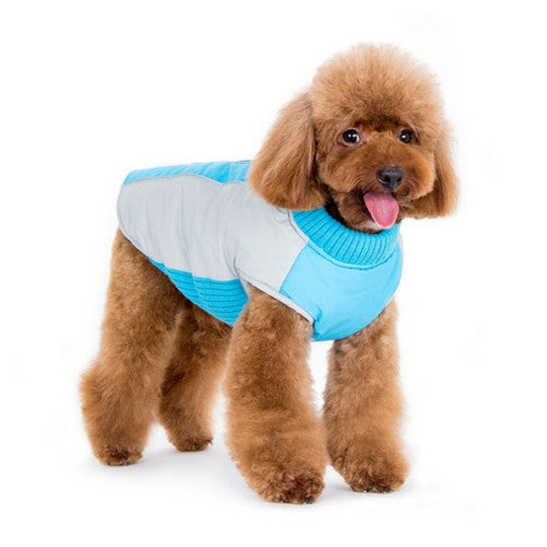 Dogo Pet Fashions Mountain Hiker Winter Dog Coat on Dog Front View