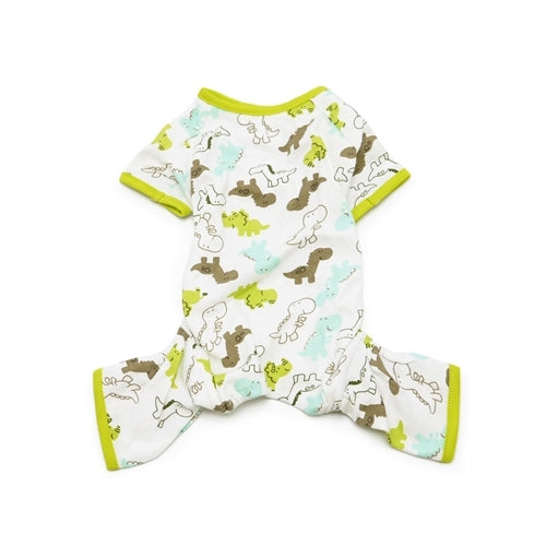 Dogo Pet Fashions Dinosaurs PJ Four-Leg Dog Pajamas