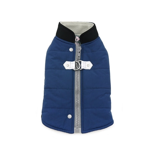 Dogo Pet Fashions Blue Insulated Urban Runner Winter Dog Coat