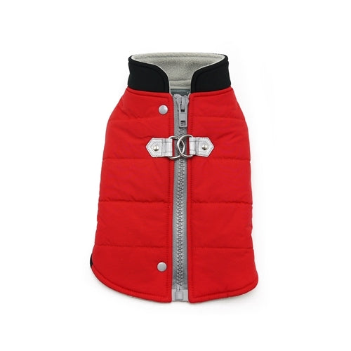 Dogo Pet Fashions Red Insulated Urban Runner Winter Dog Coat