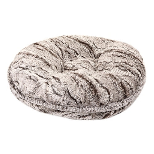 Doggy Wrappers Gator and Grey Mink Round Nesting Dog Bed