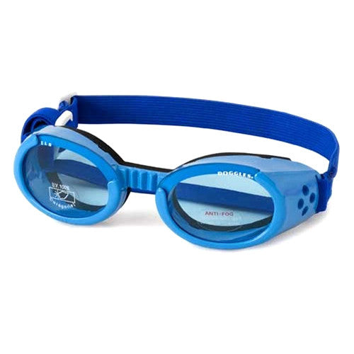 Doggles  Dog Eye Protection ILS Goggles — Shiny Blue