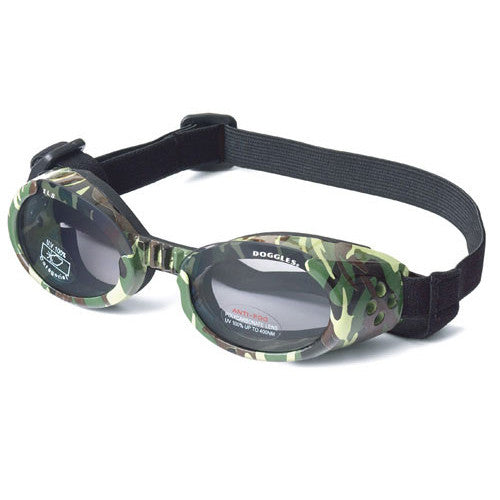 Doggles Dog Eye Protection ILS Goggles — Green Camo