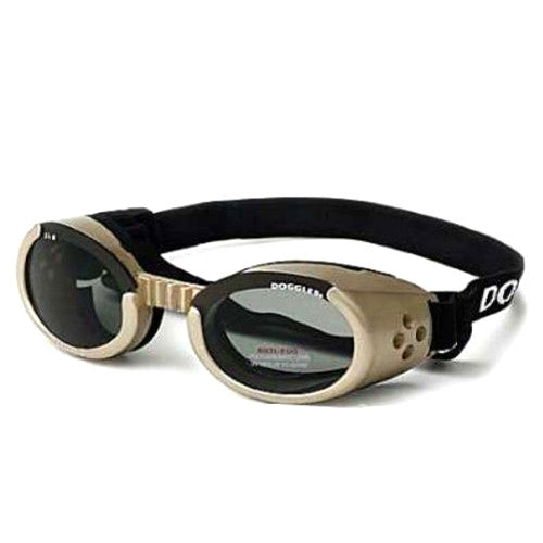 Doggles Dog Eye Protection ILS Goggles — Chrome