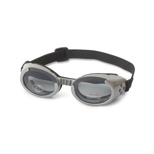 Doggles Dog Eye Protection ILS Goggles — Gunmetal Gray Smoke Lens