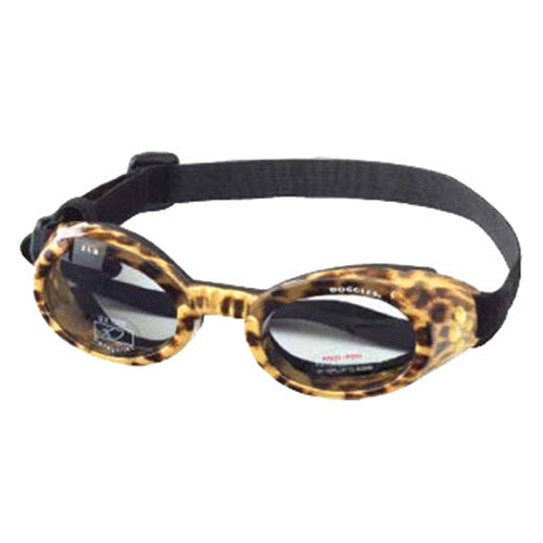 Doggles Dog Eye Protection ILS Goggles — Leopard