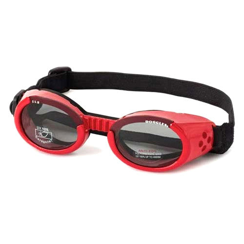Doggles Dog Eye Protection ILS Goggles — Shiny Red