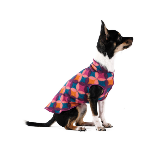 Gold Paw Series Stretch Fleece Pullover Dog Clothing — Summer Mod
