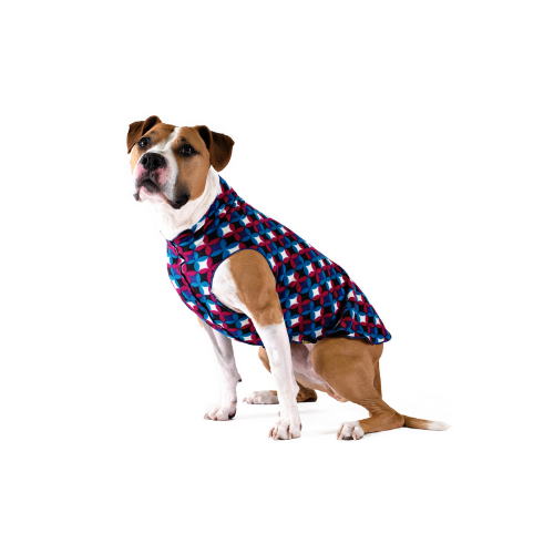 Gold Paw Series Stretch Fleece Pullover Dog Clothing — Winter Mod