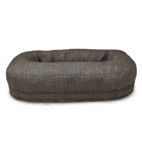 Harry Barker Martello Bolstered Nesting Dog Bed — Grey