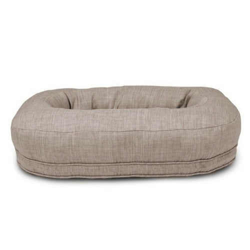 Harry Barker Martello Bolstered Nesting Dog Bed — Light Grey